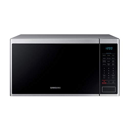 Samsung 1.4 cu.ft. Countertop Microwave with Sensor Cook MS14K6000AS (Renewed)