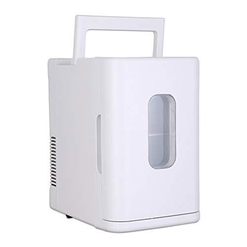 Mini Gefrierschrank 10L tragbarer Kühlschrank, Mehrzweck-Gefrierschrank für Auto und Haushalt, energiesparende und stromsparende Frischhaltebox, elektrischer Multifunktionskühler, leiser