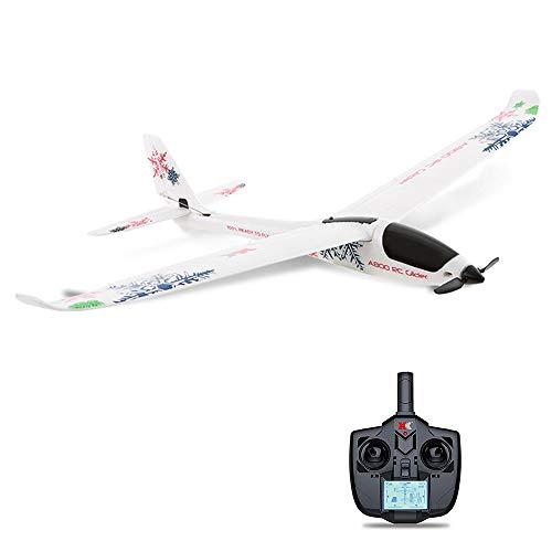 YLJYJ Ferngesteuertes Flugzeug, RC Segelflugzeug A800 2.4G 5 Chanel Mini-Fernbedienung RC Radio Aircraft Drone Flugzeug Geeignet für Kinder ab 3 Jahren und Erwachsene Intelligent