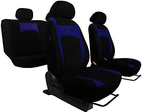 Sitzbezüge Design Grau Geeignet Für Skoda Fabia Universal Groß Auto Schonbezüge Ein Set Auto
