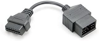 Goliton OBD OBD2 16 Pin Connector Diagnostic Adapter For Toyota 17 Pin