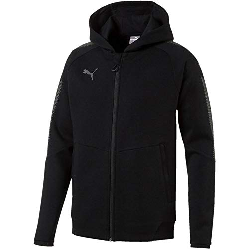 PUMA Herren Ascension Casuals Hoody Sweatshirt, Black, L