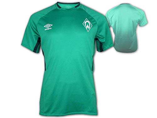 UMBRO SV Werder Bremen Kinder Training Shirt SVW Fan Fußball Jersey Bundesliga, Größe:158