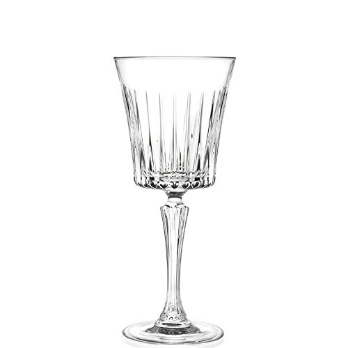 6 Glasses for Don't miss the campaign Red Withe Wine Crystal - Service Concorde 30 1 cl mart
