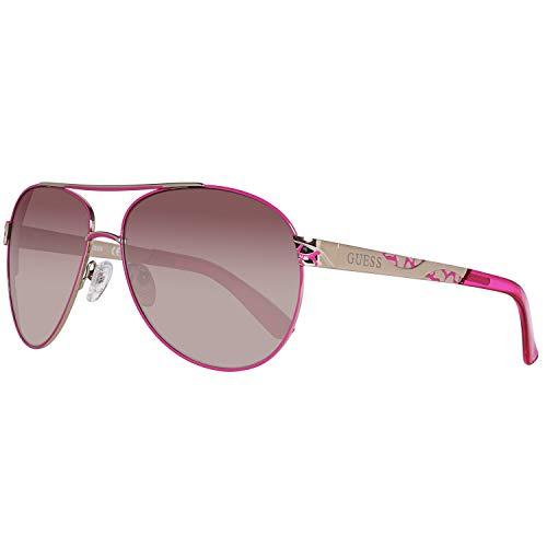 Guess Sonnenbrille Gf0282 32F 61 Gafas de sol, Rosa, 61.0 para Mujer