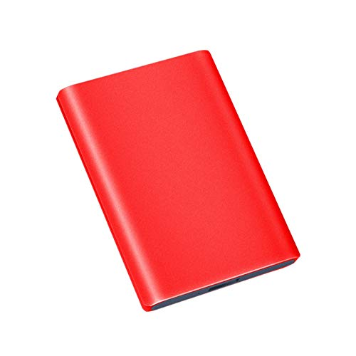 Hdd External Hard Drive 2tb/1tb/500gb, 2.5-inch Metal Portable Usb 3.0 Mobile Hard Drive, Suitable for Pc, Desktop, Laptop, Macbook, Xbox One, Ps4, Smart Tv (Capacity : 750GB, Color : Red)