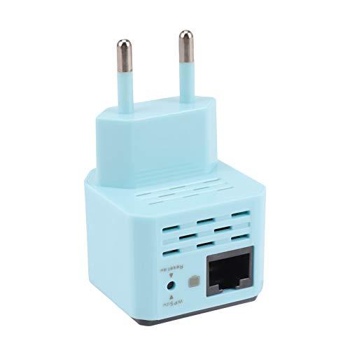 Fltaheroo 300Mbps Repetidor Inalámbrico 2.4G Router WiFi Aumentador De Presión Amplificador De Seeal Rango Inalámbrico Extender La Cobertura WiFi para Casa/Hotel Enchufe De La UE