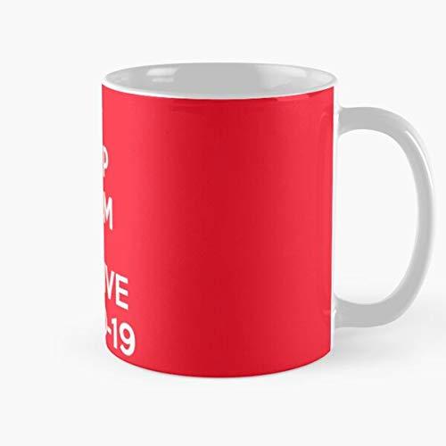 Wash Calm Hands Keep British Your Disease Best 11 Ounce Ceramic Coffee Mug