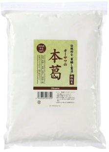 オーサワの本葛(微粉末 1kg×10個)×1ケース           JAN:4932828037790