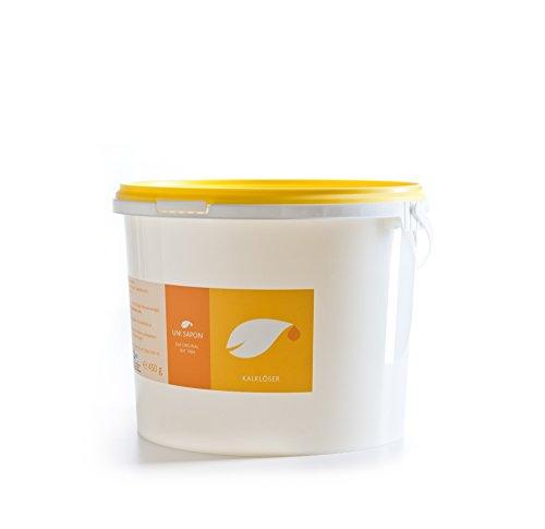 Bio Kalkreiniger - Kalklöser von Uni Sapon - rein pflanzlich - reinigt mit hochwertiger Fruchtsäure - chemiefrei - giftfrei - zertifiziert , Größe:3 Kg