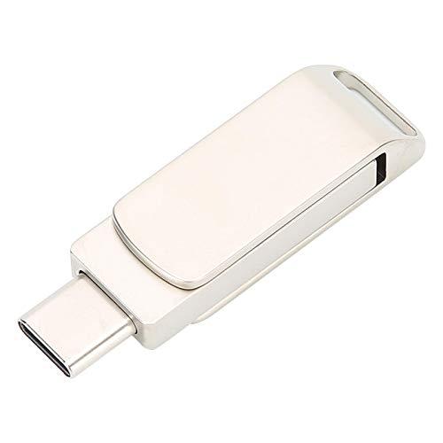 Eulbevoli Unidad Flash USB, Unidad Flash USB3.0 portátil para Equipos de Interfaz Tipo C de Nueva generación