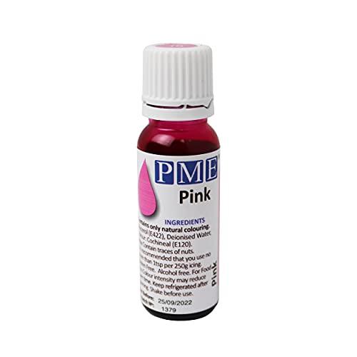 PME - Colorante Alimentare 100% Naturale - Rosa, 25 g