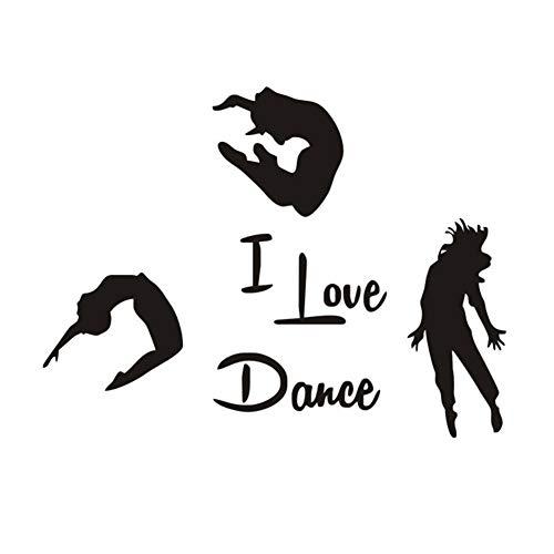 Newin Star Arte della Parete Adesivi Mi Piace La Danza...