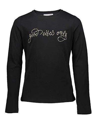 Geisha Mädchen Shirt Good Vibes only Black 92595K (164)