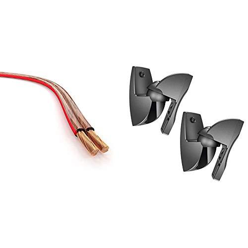 KabelDirekt - Cable de Altavoces 2x1.5 mm² (Cable de altavoz HiFi, de...