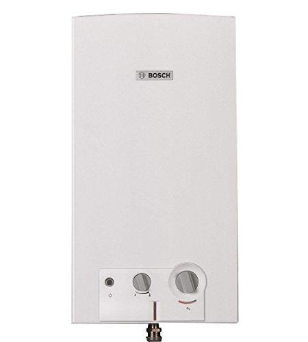 Bosch 7736504163 Scaldabagno Metano Camera Aperta, 11-2 23, Bianco