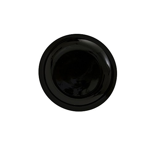 10 Strawberry Street Black Coupe 6.5' Bread & Butter Plate, Set of 6, Black