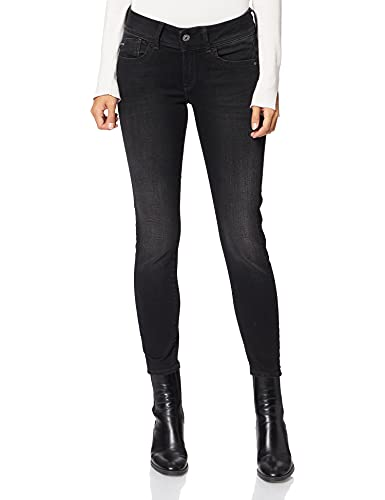 G-STAR RAW Damen Lynn Mid Waist Skinny D06746 Jeans, Blau (Faded Blue 6553-a889), 29W / 32L
