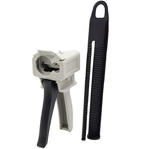 Bigbong 10: 1 75ml Cartridges AB Epoxy Resin Glue Gun Acrylics Adhesive Caulking Gun Adhesive Dispensers Manual Applicator Dispensing Gun