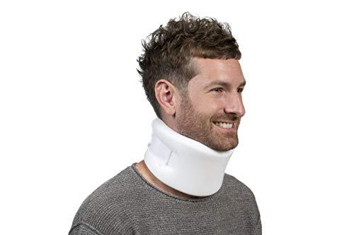 "FitPro 3"" Foam Cervical Collar, Amazon Exclusive Brand, White -FP10003"