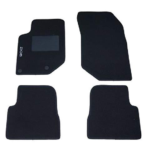 Carmats Compatibles avec tapis de sol 208 série II année 2019 en moquette avec fixations de fixation.