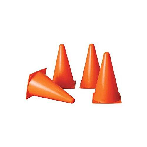 Plots coniques 4 pièces - plots de marquage couleur orange