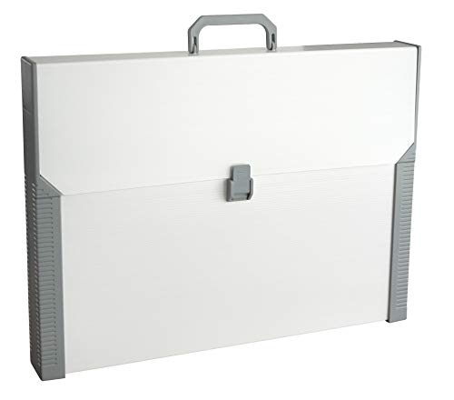 Aristo Studio Case - Maletín de plástico para tablero de dibujo A3, color beige y gris