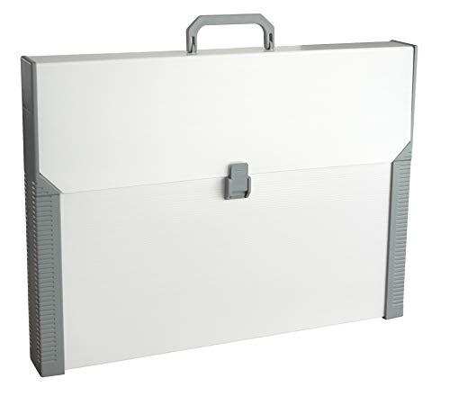 Aristo Transporttasche Studio Case (Format A3, für den Transport von Artisto Zeichenplatten, mit Griff, Kunststoff) beige/grau