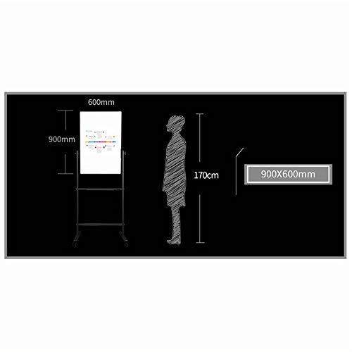 Di legno in piedi Arte Cavalletto, H-supporto Con rotella universale Whiteboard fronte-retro magnetico mobile Dimostrativi, universale della scheda di presentazione for gli uffici