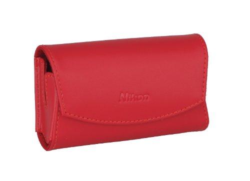 Nikon CS-S16 Ledertasche für Nikon Coolpix S3000/S4000 rot