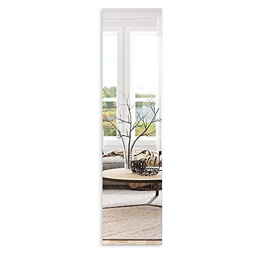 Double S 壁掛けミラー 全身鏡 姿見鏡 DIY 自由組合 アパート 洗面台 玄関 枠無し 取付簡単 4枚セット 貼るミラー 割れない 壁鏡 おしゃれ 方形 3mm厚さ 35x35cm