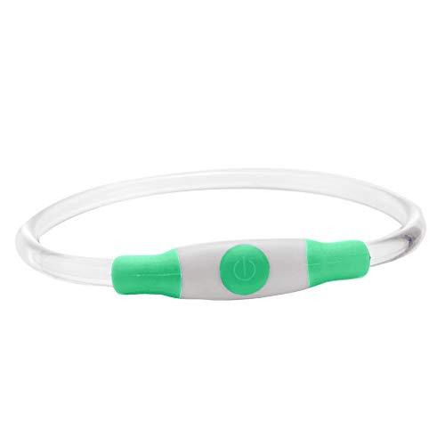 Yowablo leuchthalsband Hund Hunde leuchthalsband led Hund Halsband led Halsband USB...