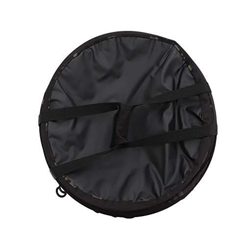 [オレゴニアンキャンパー] アウトドア ポップアップ トラッシュボックス R ブラック×カモフラ OCB-708R