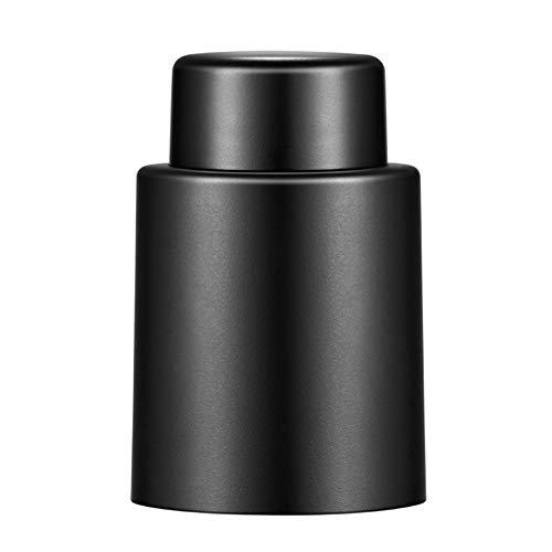 lefeindgdi Tapón para botella de vino, tapón de vino con bomba de vacío, sellador al vacío reutilizable, fácil de mantener para la cocina en el hogar