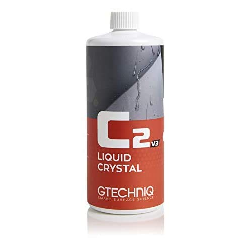 Gtechniq C2 v3 Liquid Crystal 1000ml - Protection céramique en spray issue de la nanotechnologie, repousse eau et saleté, brillance et effet hydrophobe hautes performances