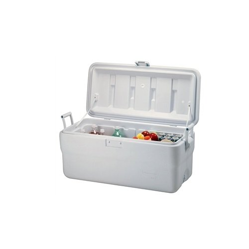 Rubbermaid Marine Cooler, 102 Quart, White FG198200TRWHT
