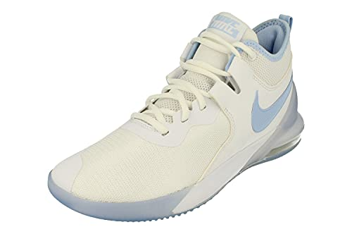 Nike Air MAX Impact Hombre Basketball Trainers CI1396 Sneakers Zapatos (UK 8.5 US 9.5 EU 43, White Royal Tint Clear 100)