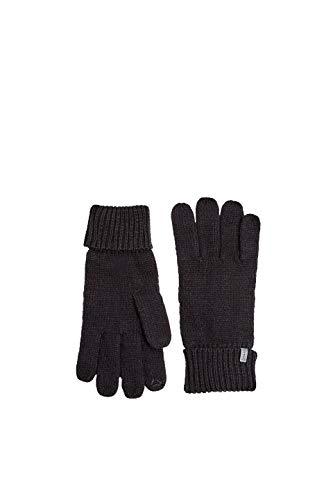 ESPRIT Accessoires Herren 109Ea2R005 Handschuhe, Schwarz (Black 001), One Size (Herstellergröße: 1SIZE)