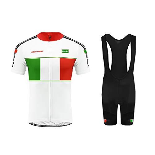 Uglyfrog 2019-2020 MTB SYTD32 Gli Uomini Sono Sport all'Aria Aperta Usura Manica Corta Traspirante Ciclismo Maglia Bicicletta Abbigliamento Completo Camicia Moto Zip