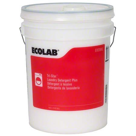 ECOLAB 6101849 Tristar Liquid Detergent Plus - 5 Gallon