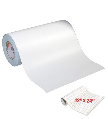 Oracal 631 Roll of Matte White Vinyl for Cricut & Cameo (12' x 10yrds (30ft))