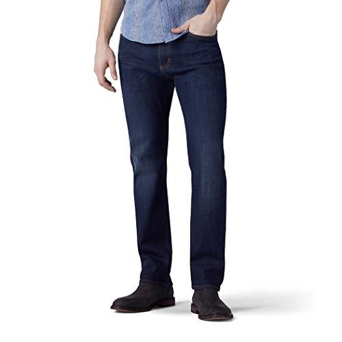 Lee Big & Tall Performance Series Extreme Motion Athletic Fit Jeans, Strike Blu, 54W x 32L Uomo