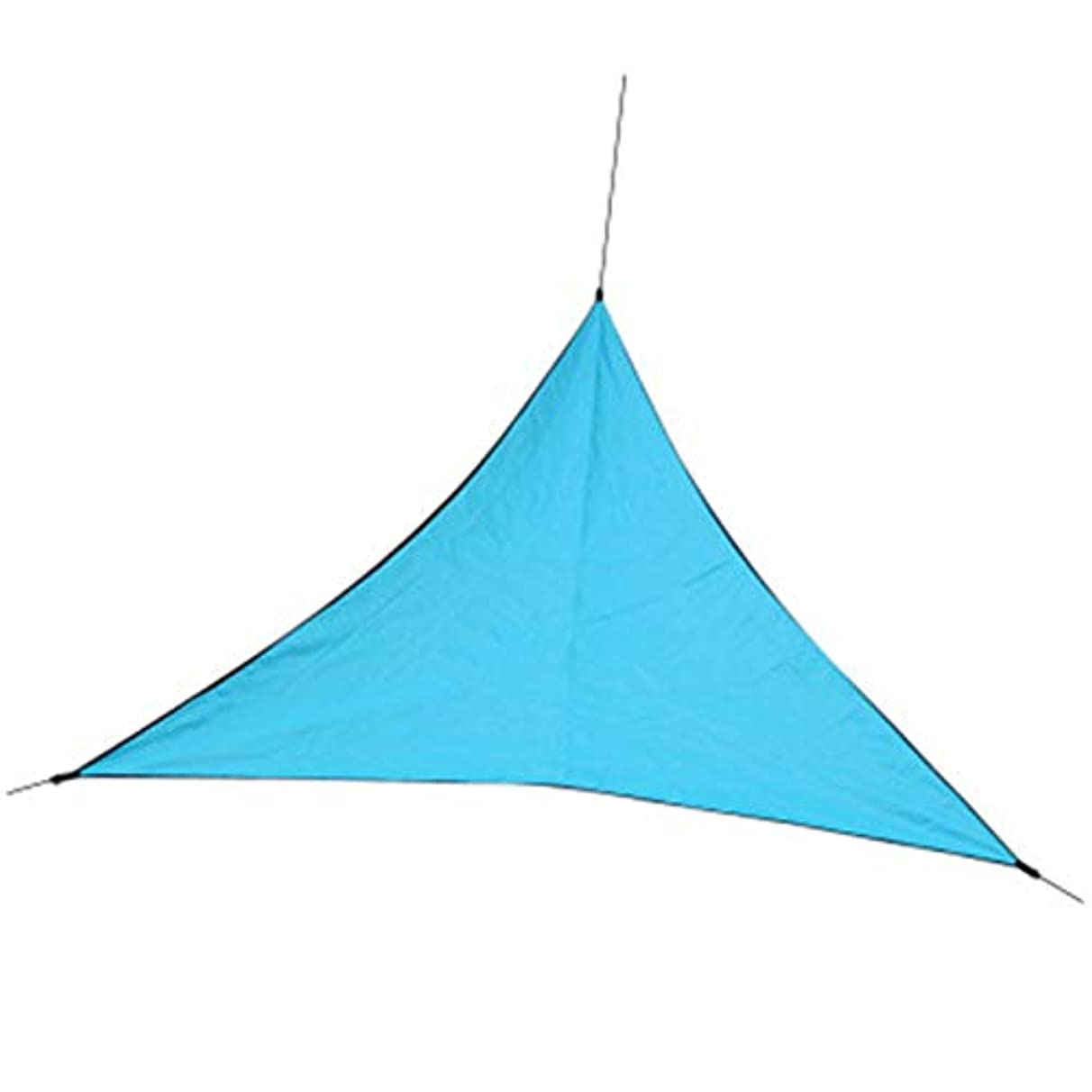 Nrpfell Outdoor Sun Shelter Waterproof Awning Triple-cornered Tent Canopy Garden Beach Picnic Camp Shade Tarp Travel Awning Sun Shade Gazebo Orange