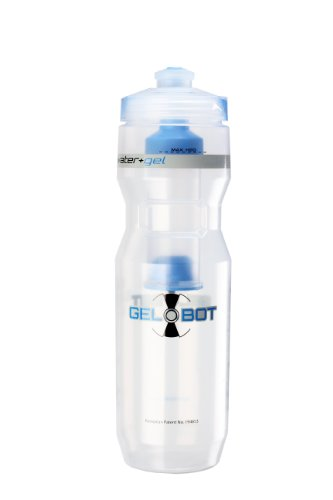 Hydrapak Gel Bot Water Bottle, Blue, 24-Ounce