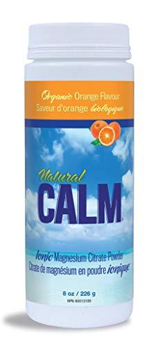 NATURAL VITALITY Orange Natural Calm Ionic Magnesium Citrate Powder, 8 OZ