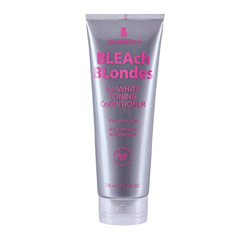 Lee Stafford Bleach Blonde Ice White Toning Conditioner, 250ml