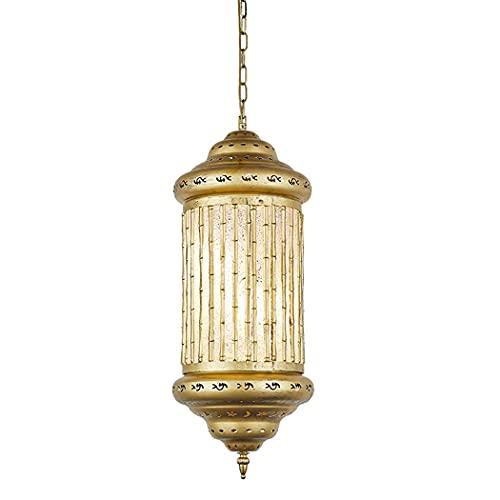 Ye Wang Linterna marroquí luz Colgante Lámpara de araña turca Pantalla de Mosaico Tiffany Vintage Iluminación de Techo Sala de Estar Dormitorio Comedor Cocina Decoración Lámpara Colgante E27