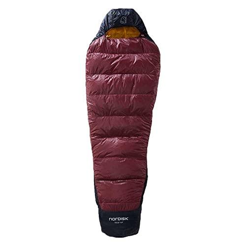 Nordisk Oscar +10° Mummy Schlafsack M Rio red/Mustard Yellow/Black 2021 Quechua Schlafsack