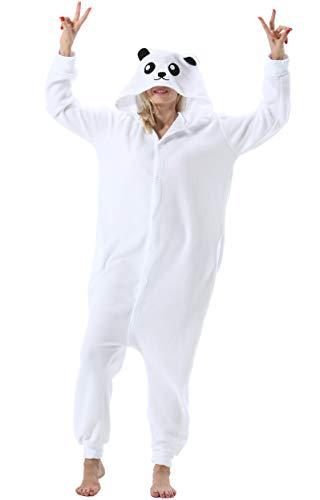Mujer Hombre Pijama Animal Entero Unisex Adultos Capucha