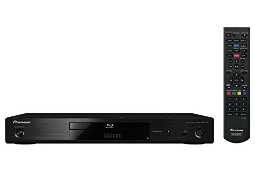 Pioneer BDP-170-K 3D Blu-ray Player (HDMI, 1080p Video Scaler, DLNA 1.5, App. Steuerung, WiFi und WiFi-Direct, USB 2.0, HDMI-CEC) schwarz